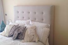 Respaldos de cama / Cabeceros de cama tapizados