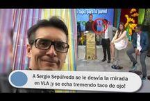 A Sergio Sepúlveda se le desvía la mirada en VLA ¡y se echa tremendo taco de ojo!