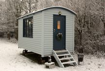 Shepherds Huts / A great feature for any garden and an ideal spare room