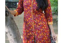 Indian Kurtis - Floral Collection