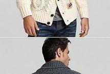 Мужская мода - вязание