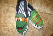 Shoes - TMNT / Teenage mutant ninja turtles tekkies