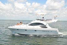 Boat rentals and Cancun fun in the sun / Awesome things to do in Cancun, aquatic activities and fun for all.
