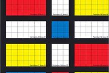 A x B: Mondrian