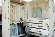 closet display...