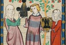 medeltida inspiration 1300-/1400 tal