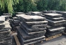 Reclaimed Yorkstone paving available