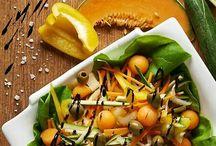 Insalate / Insalate: tante ricette gustose e salutari preparate con frutta e verdura di stagione ed ingredienti di eccellenza del territorio lombardo!