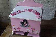cajas decoradas / by SOUVENIRS MEME