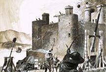 Middle ages Medieval Battle Castle