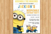 Despicable me party / by Erin Brankowitz