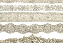 cintura bordado en piedras novia