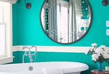 Home - bathroom / by Reema Olive