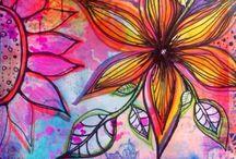 """""""Art"""" - flowers"""