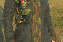 Одежда из войлока для женщин. Мои работы / Woman's Feltng Cloths, made by me. / Валяная ручная работа Студии войлока Demoiselle. Работы в единственном экземпляре. Одежда из войлока / Felted Handmade Work by Felted Studio Demoiselle. Unique work made specially for you.
