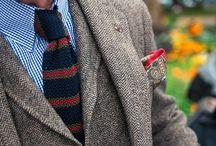 Debonair / Vintage style meets modern man.