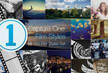 """Capture One Styles / Am rebrandat de la Capture One Styles este doar numele care se va schimba, stilurile noastre vor rămâne mereu la fel!  """"Stiluri de Film pentru Captură Unu"""" este un set de 100 de stiluri care pot fi aplicate imaginilor prelucrate automat în editorul de fotografii Capture One.  Fiecare stil este conceput pentru a profita la maximum de capabilitățile Capture One și poate aplica o multitudine de efecte pentru a crea imagini ."""