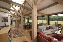 Multi award winning curved-plan home / This house has been awarded a RIBA regional award as well as the Daily Telegraph Home Building and Renovation Awards for Best Timber Frame, Best Eco House and The coveted Readers Choice.