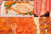 Orange Party Ideas / by A to Zebra Celebrations ~ Nancy ~