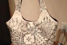 tašky zentangle
