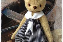 Куклы и мишки Теди / В морском стиле