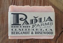 Bath & Body / Bath and body products made by Padua Farms exclusively for Heirloom! Available on our website as well as in store.