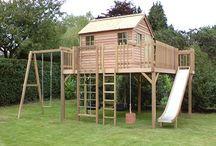 děti zahradní domek