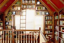 Book shelves / by Shannon Gaythorpe
