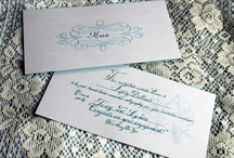 ~Calligraphy Gift Certificate~ / A gift certificate for wedding calligraphy is a great idea if you know someone recently engaged!