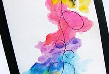 Watercolor Cards / by Toni Shaw