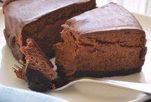 Raw V Choco cake