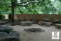 Fire Spaces / Here are some pictures of outdoor kitchens and fire pits we have designed and constructed for clients.