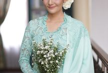Kebaya / A traditional costume from Indonesia