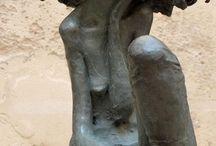 Valérie Hadida, sculpteure et peintre