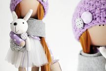 Куклы / Куклы текстильные