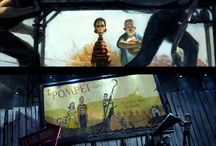 Storyboards references / Camera view, light and color