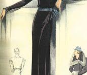 Moda anos 30. Glamour e Crise.