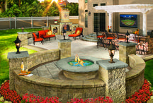 Outdoor living spaces / Outdoor living spaces!