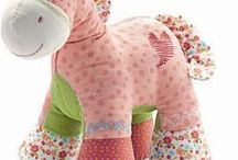 sewing idea's and patterns for stuffed toys