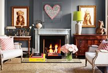 colorful livingroom palette