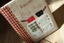 Cuadernos,  libretas,  carpetas artesanales.