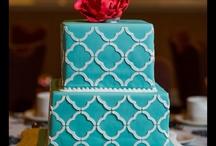quatrefoil moroccan style cake
