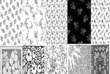 Black and White Damask Digital Papers - Commercial Use / Black and White Damask Digital Papers - Commercial Use. WELCOME to this STUNNING collection of Black and White Damask Digital Paper images.   This bundle contains 220 high-quality BLACK and WHITE Black and White Damask Digital Paper images. Images saved at 300dpi in PNG files.  #damaskdigitalpapers