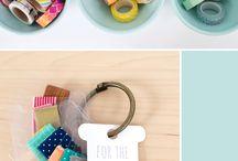 Crafty Organization / Ideas for organizing craft supplies