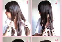 Hairstyles, makeup and nails<3 / Easy summertime looks