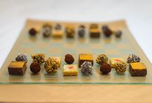 Truffles & Mithai / Our full line of delightful Indian inspired sweets available for special order in an assortment of gift box sizes. These make the perfect gift as well as the perfect party favors. Available for shipping throughout the USA.