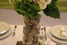 Asztal díszek