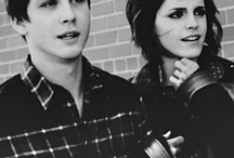 Logan Lerman x Emma Watson