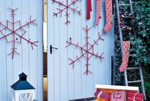Christmas Garages / Something fun for Christmas.  Do you decorate your #garage at Christmas?  #Christmas #garage