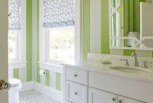 zelená malba
